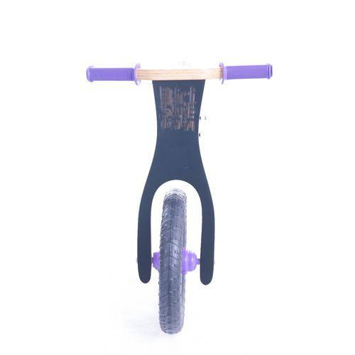 Bicicleta de Equilíbrio de Madeira BiciQuétinha Lousa Roxa