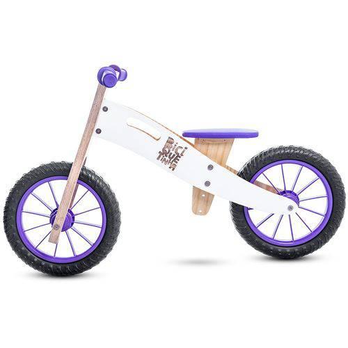 Bicicleta de Equilíbrio Sem Pedal Neve Roxa Biciquetinha