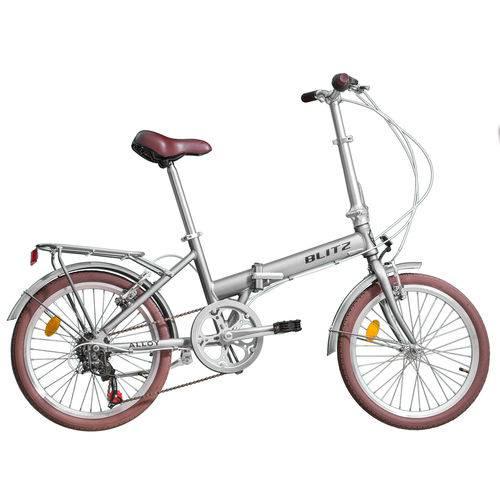 Bicicleta Dobrável Blitz Alloy Aro 20 6v