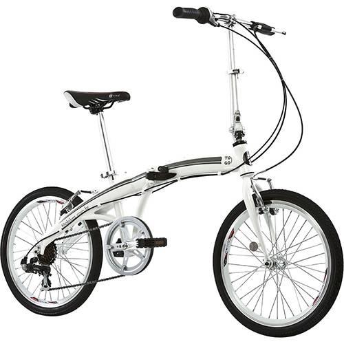 Bicicleta Dobrável Tito Bike To Go 20 Branca