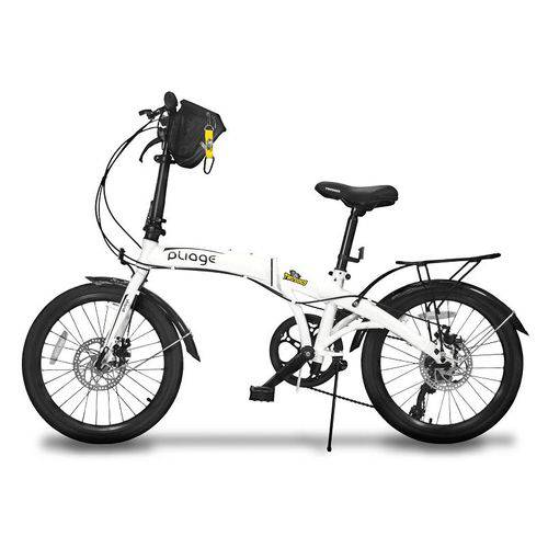 Bicicleta Dobrável Two Dogs Pliage Plus Branco