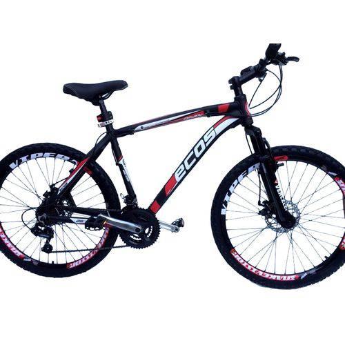Bicicleta Ecos Aro 26 Freio Disco 24 Marchas Câmbios Shimano