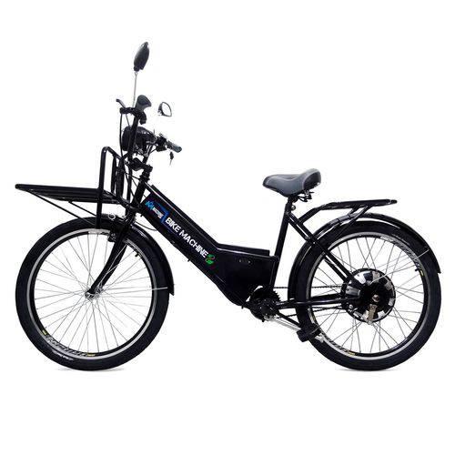 Bicicleta Elétrica Cargo 800w 48v Preta