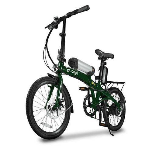 Bicicleta Elétrica Dobrável Two Dogs Pliage Verde