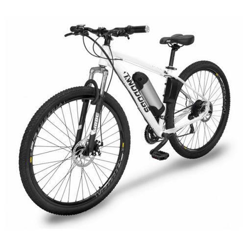 Bicicleta Elétrica Two Dogs Mtb Aro 29 Slim Branca