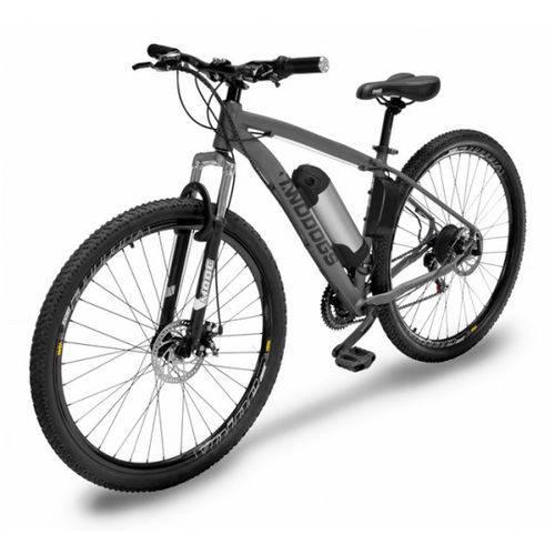 Bicicleta Elétrica Two Dogs Mtb Aro 29 Slim Cinza