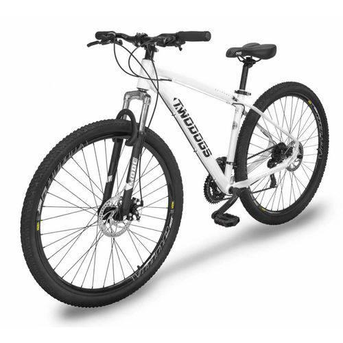 Bicicleta Extreme Two Dogs Mtb Aro 29 – Branca – 21v
