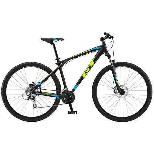 Bicicleta GT - Timberline Expert 2018 - Preta / Amarela / Azul