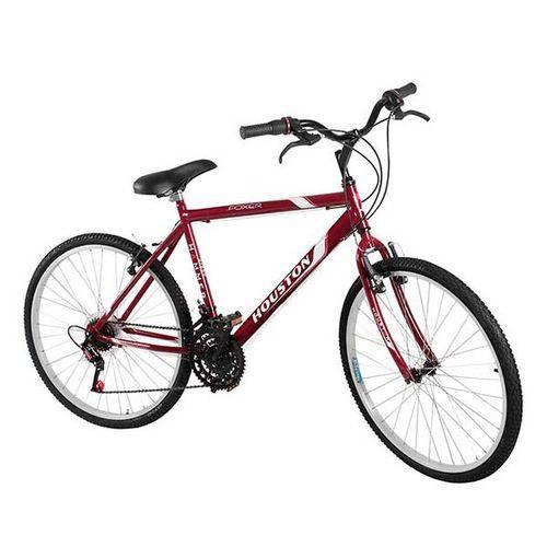 Bicicleta Hammer Foxer Aro 26 18 Marchas Vermelho - Houston
