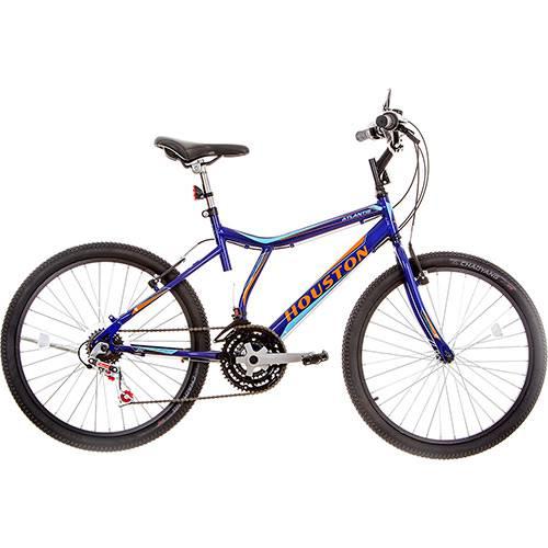 Bicicleta Houston Atlantis Land Aro 24 21 Marchas Azul