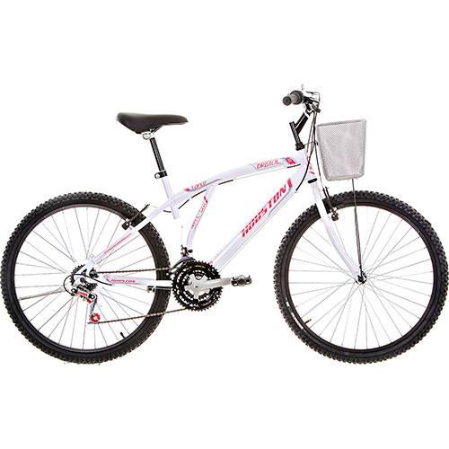 Bicicleta Houston Bristol Lance Aro 26 21 Marchas Branca