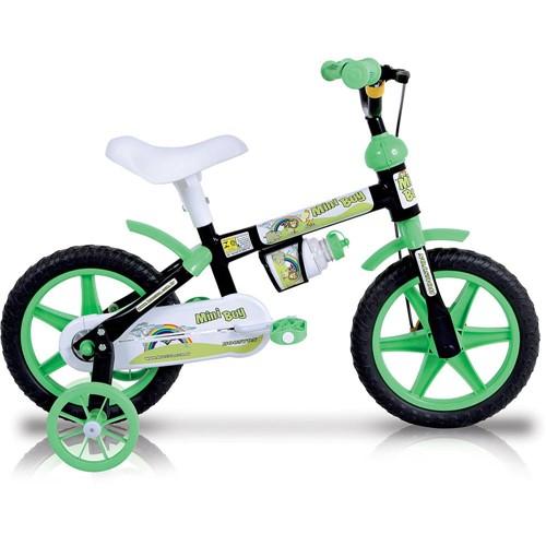 """Bicicleta Houston Mini Boy Aro 12"""" Preta"""