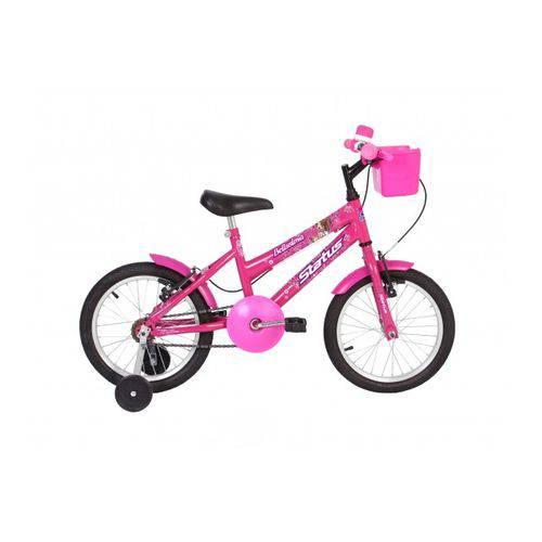 Bicicleta Infantil Aro 16 Status Belissima - Rosa