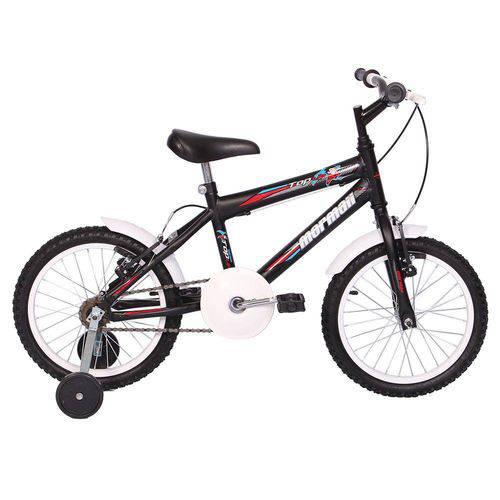 Bicicleta Infantil Aro 16 Top Lip Preto Fosco- Mormaii