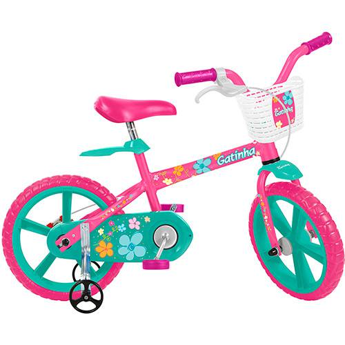 Bicicleta Infantil Bandeirante Gatinha Aro 14