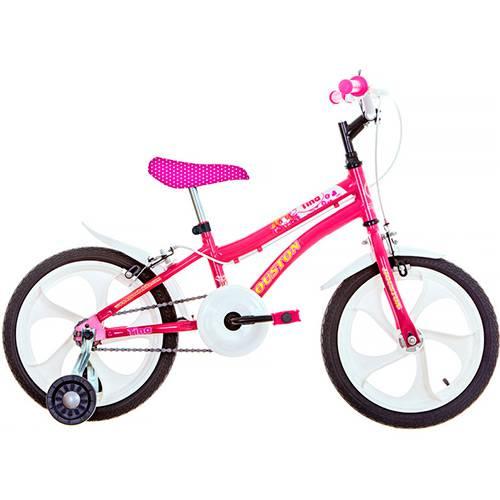 Bicicleta Infantil Houston Tina Aro 16 Monovelocidade - Rosa