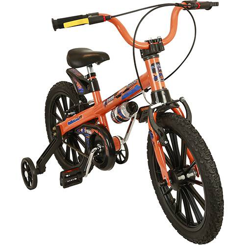 Bicicleta Infantil Nathor Extreme Aro 16 Masculina Laranja