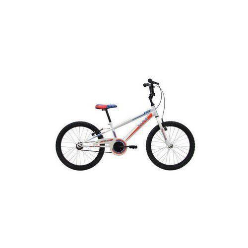 Bicicleta Infantil Tito Volt 2.0 Aro 20 Branca e Vermelha