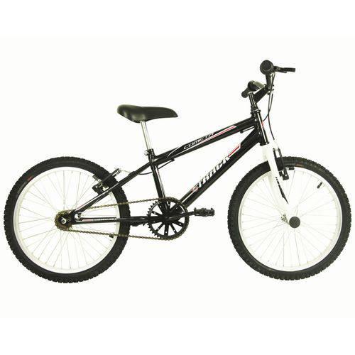 Bicicleta Infanto Juvenil Aro 20 Cometa Preto e Branco - Track Bikes