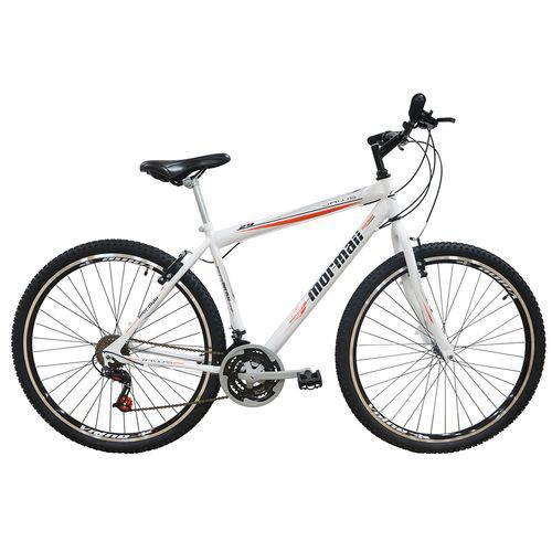 Bicicleta Jaws V-brake Aro 29 21v Branco Mormaii