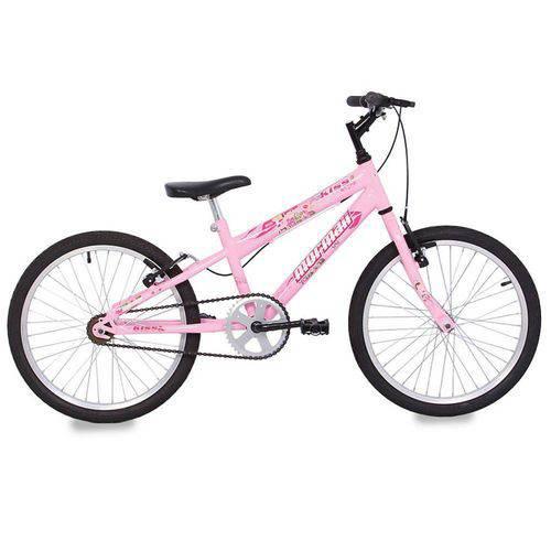 Bicicleta Kiss Aro 20 Rosa - Mormaii