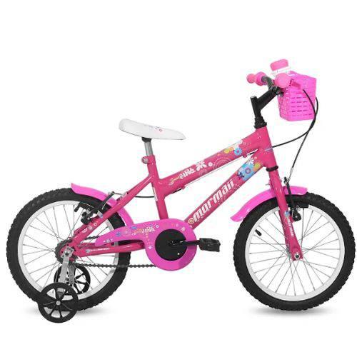 Bicicleta Mormaii Aro 16 Sweet Girl C18 - Rosa - 2012028