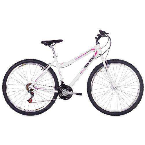 Bicicleta Mormaii Aro 29 Fantasy 21v V - Brake - Branca
