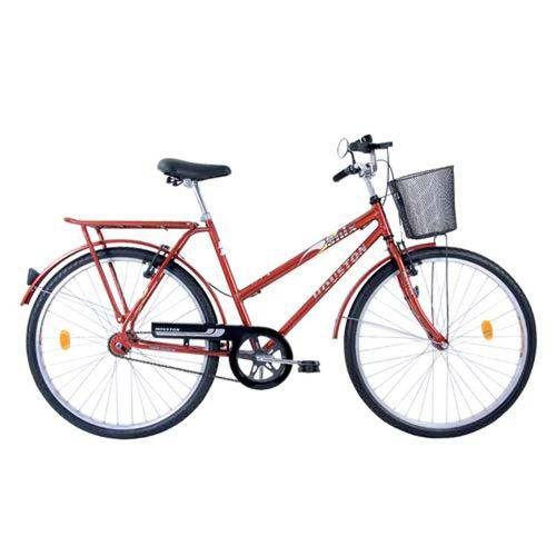 Bicicleta Onix C/ Cesta Vb Vermelho