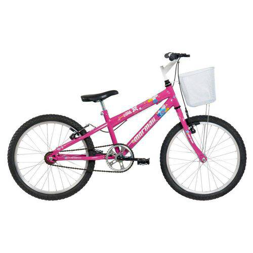 Bicicleta Sweet Girl Aro 20 Rosa - Mormaii