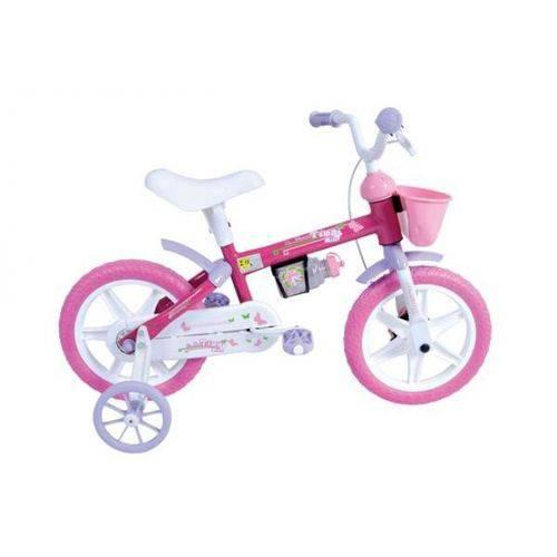 Bicicleta Tina Mini Aro 12 C/ Rodas Rosa - Houston