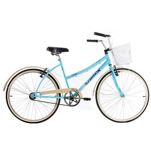 Bicicleta Track Classic Plus Aro 26 Aço - Azul