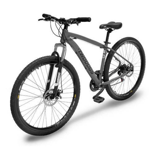 Bicicleta Two Dogs Mtb Aro 29 Cinza 21v