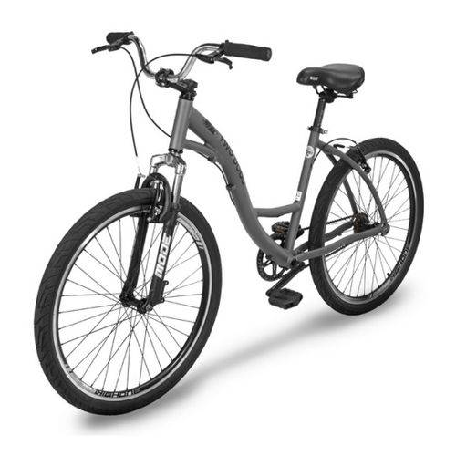 Bicicleta Two Dogs Urbana Aro 26 Slim Cinza