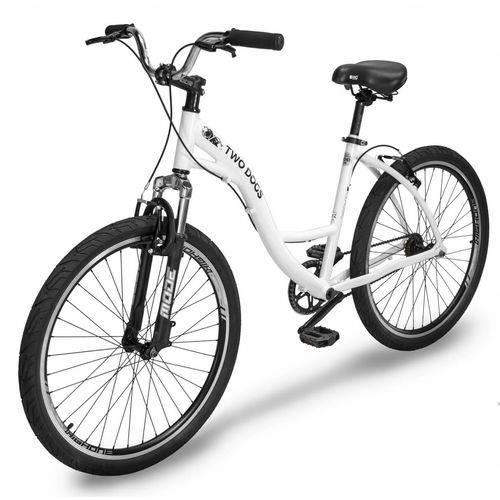 Bicicleta Urbana Two Dogs Aro26 Slim Branca