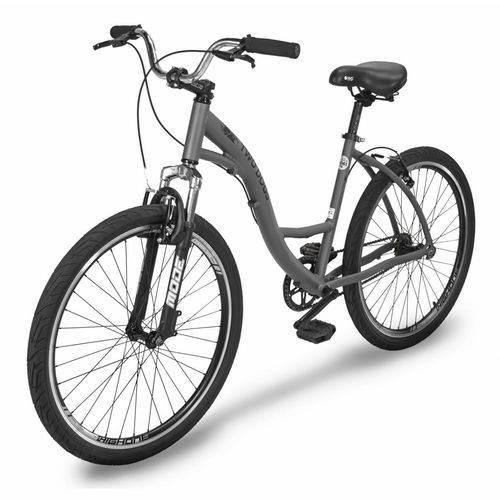 Bicicleta Urbana Two Dogs Aro26 Slim Cinza