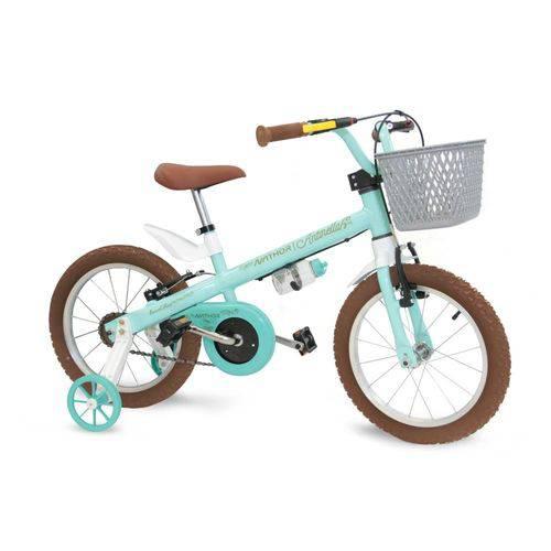 Bicicletinha Bicicleta Infantil Menina Aro 16 Antonella Girl Nathor