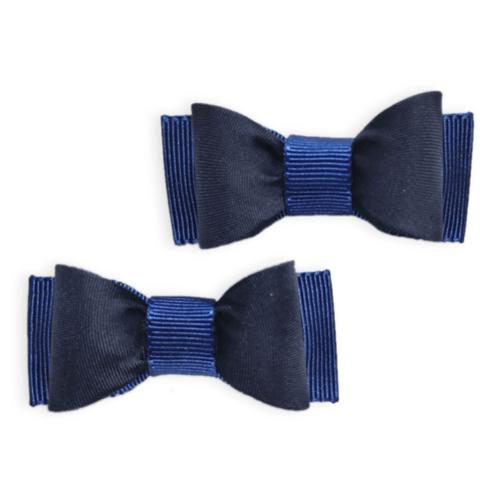 Bico de Pato Laço Azul Marinho