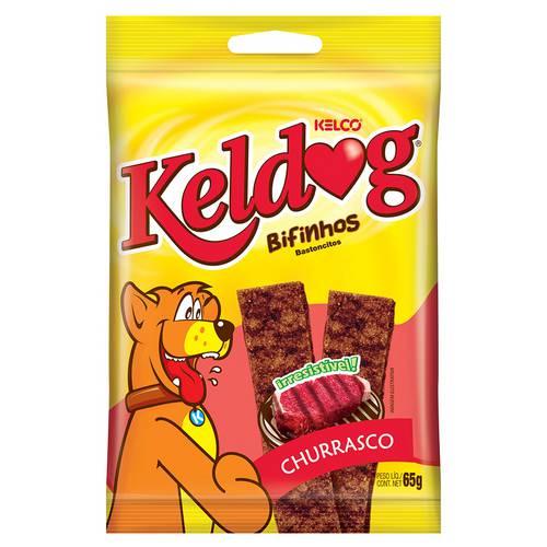 Bifinho Keldog Churrasco Kelco - 65 G