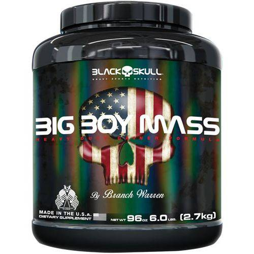 Big Boy Mass 2,7 Kg - Black Skull