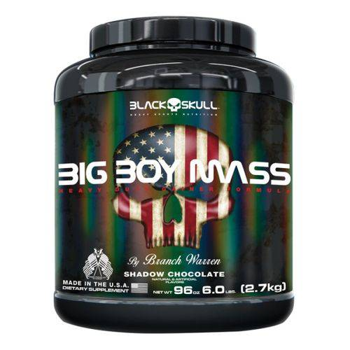 Big Boy Mass - 2700G - Shadow Chocolate - Black Skull