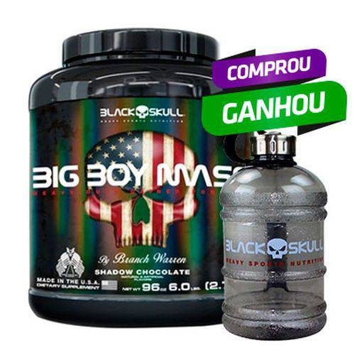 Big Boy Mass (2,7kg) - Black Skull
