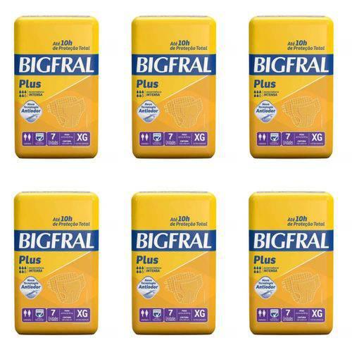 Bigfral Plus Fralda Geriátrica Xg C/7 (kit C/06)