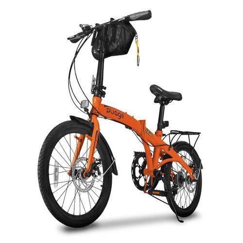 Bike Dobrável Pliage Plus Laranja Two Dogs