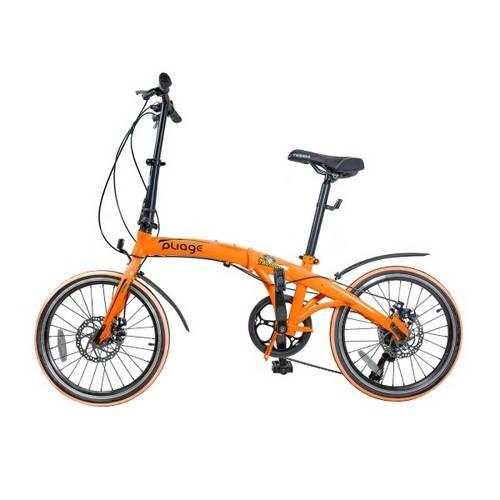 Bike Dobrável Pliage Two Dogs-Laranja