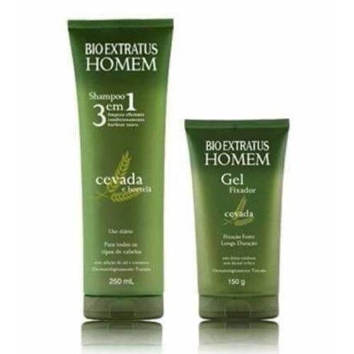 Bio Extratus Homem Shampoo + Gel 250ml