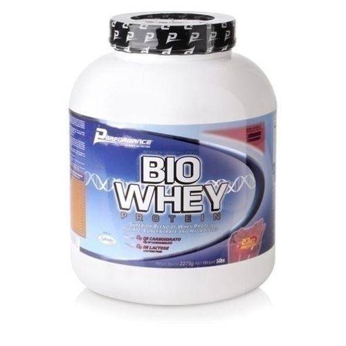 Bio Whey Protein Morango 2273g - Performance