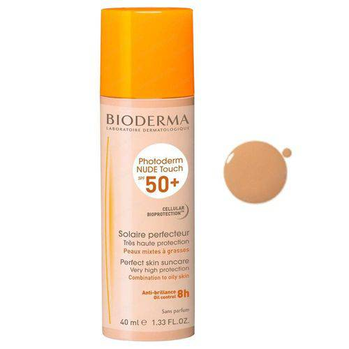 Bioderma Photoderm Nude Touch Fps50+ Dourado - 40ml