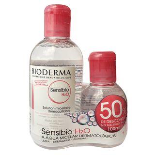 Bioderma Sensibio H2O Solução Micellare Kit - 250ml +100ml Kit