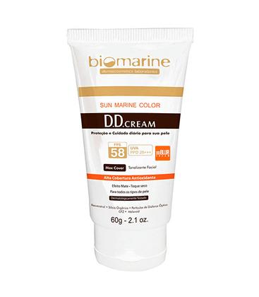 Biomarine DD Cream FPS 58 60g - 02 Bronze