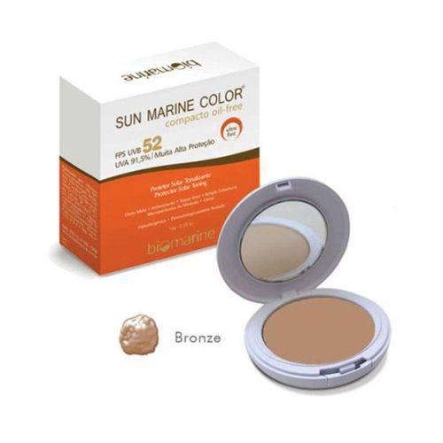 Biomarine Sun Marine Color Compacto Fps52 Bronze - 12g